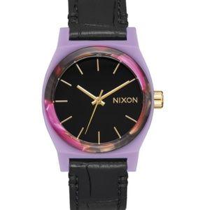 Nixon Medium Time Teller in Magenta/Mix